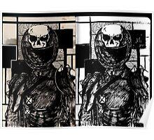 The Original Skull Girl Poster
