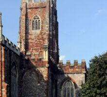 St. Mary's Church, Totnes, AD1450. Sticker
