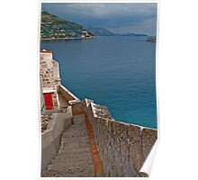 The Walls of Dubrovnik Poster