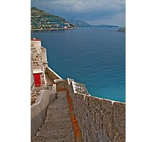 The Walls of Dubrovnik Photographic Print