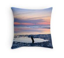 Dusk, Findhorn Throw Pillow