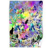 Fantasy animal land Poster