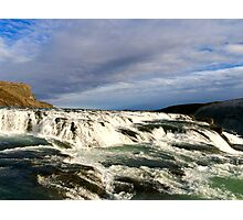 Gullfoss Waterfall [2] Photographic Print