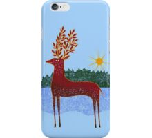 Deer in Sunlight iPhone Case/Skin