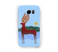 Deer in Sunlight Samsung Galaxy Case/Skin