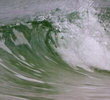 Emerald Wave Sticker