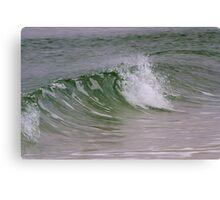 Emerald Wave Canvas Print