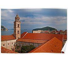 Dominican Monastery. Dubrovnik. Poster