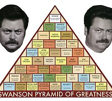 Swanson Pyramid of Greatness by TheRonSwanson