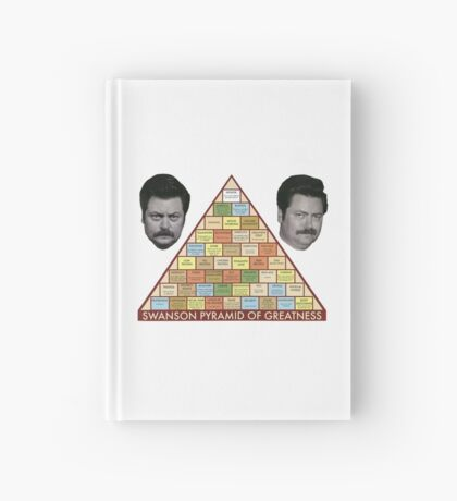 Swanson Pyramid of Greatness Hardcover Journal
