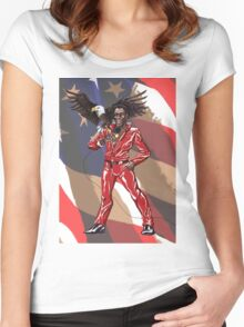 All-American Eddie Women's Fitted Scoop T-Shirt