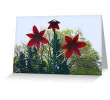 World's Largest Lily Greeting Card