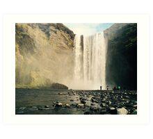 Skogfoss Waterfall, Iceland  Art Print