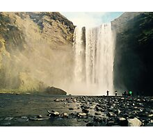 Skogfoss Waterfall, Iceland  Photographic Print