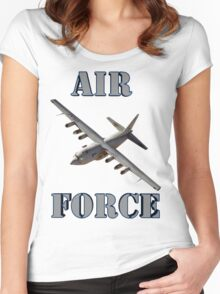 Air Force C-130 Women's Fitted Scoop T-Shirt