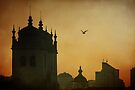 Morning comes to Porto by Ursula Rodgers