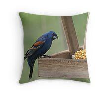 Deep Blue 2 Throw Pillow