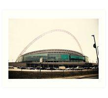 Wembley Stadium Art Print