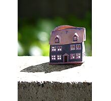 Melted House Photographic Print