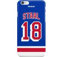 New York Rangers Marc Staal Jersey Back Phone Case iPhone Case/Skin