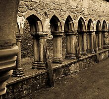 Cloisters 2 by Sandra Dunlap