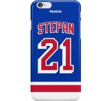 New York Rangers Derek Stepan Jersey Back Phone Case iPhone Case/Skin