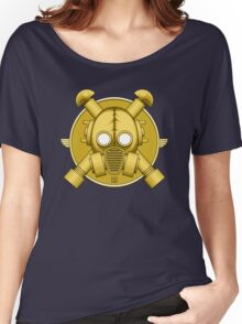 Art Deco Gold Gasmask Women's Relaxed Fit T-Shirt