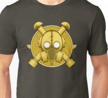 Art Deco Gold Gasmask Unisex T-Shirt