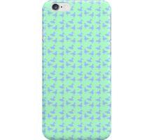 Blue ducks iPhone Case/Skin