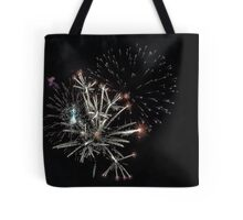 Exploding Candles Tote Bag