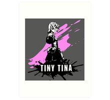 Tiny Tina (Colored BG) Art Print