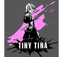 Tiny Tina (Colored BG) Photographic Print