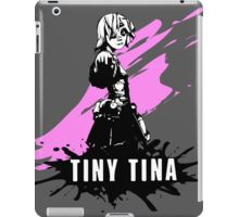 Tiny Tina (Colored BG) iPad Case/Skin