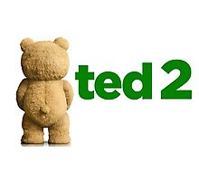 Ted 2 Merch Photographic Print