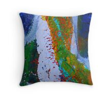 Cadillac Abstract Throw Pillow