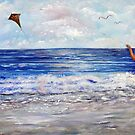 Girl With A Kite by Loretta Luglio