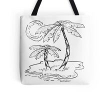 Just Add Palm Trees Tote Bag