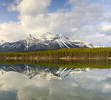 Early morning Herbert Lake panorama, Banff by Andrey Popov