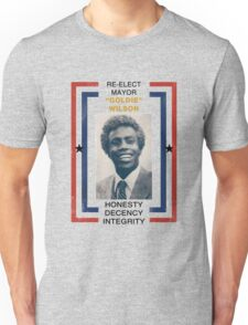 Re-elect Mayor Goldie Wilson Unisex T-Shirt