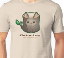 Cute Cat Pun: Cat-a-log Unisex T-Shirt