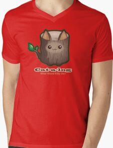 Cute Cat Pun: Cat-a-log Mens V-Neck T-Shirt