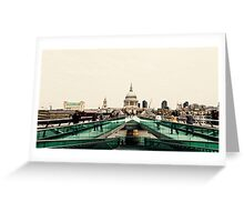 St Paul's from across the river Greeting Card