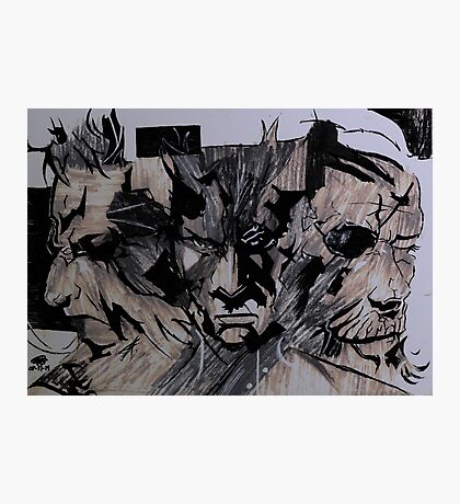 3 Faces  All Legends Photographic Print