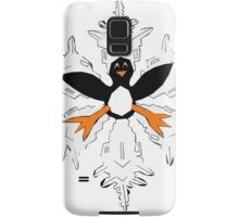 Penguin snow flake Samsung Galaxy Case/Skin