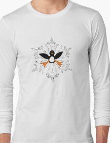 Penguin snow flake Long Sleeve T-Shirt