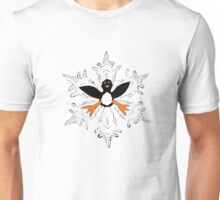 Penguin snow flake Unisex T-Shirt