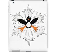 Penguin snow flake iPad Case/Skin