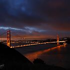 Good Morning Golden Gate by Leasha Hooker