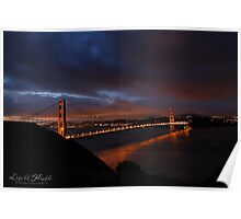 Good Morning Golden Gate Poster