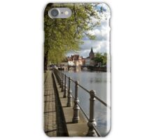 Strolling Through Bruges iPhone Case/Skin